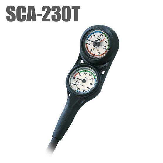 SCA-230T ZWEIERKONSOLE mit Tiefenmesser & Finimeter