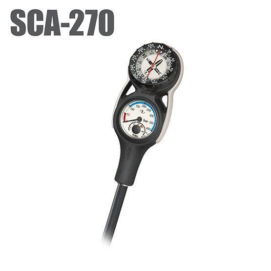 SCA-270 ZWEIERKONSOLE mit Finimeter & Kompass